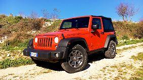 Der Wrangler ist das deutlichste Zitat an die Wurzeln von Jeep.