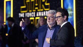 """Erwachen der Macht: Stars feiern Weltpremiere von """"Star Wars 7"""""""