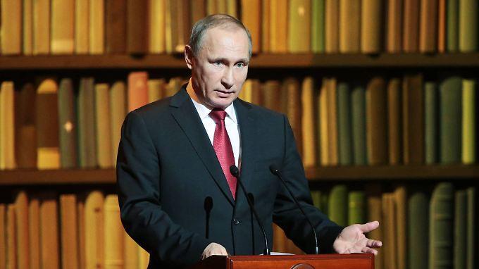 Wladimir Putin hält internationale Urteile gegen Russland offenbar für hinderlich.