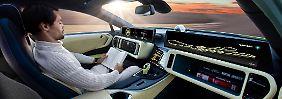 So stellt sich Rinnspeed das autonome Fahren in der Zukunft vor.