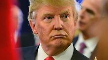 Laut Umfragen hat Trump die größten Chancen, Präsidentschaftskandidat der Republikaner zu werden.