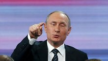 """Kolossaler Beitrag"": Putin: Friedensnobelpreis für Blatter"