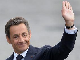 """Bekennender """"Workaholic"""": der französische Präsident Nicolas Sarkozy. Nach einem Schwächeanfall beim Joggen versprach er im Wahlkampf 2007, regelmäßig über seinen Gesundheitszustand zu informieren."""