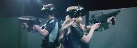 """Erster virtueller Freizeitpark: Holodeck aus """"Star Trek"""" wird Realität"""