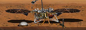 "Probleme beim Seismografen: Nasa sagt Mars-Misson ""InSight"" ab"