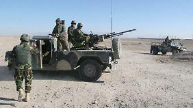 Regierungstruppen in der Provinz Helmand: Die Regierung will noch vor der befürchteten Frühjahrsoffensive mit den Gesprächen beginnen.