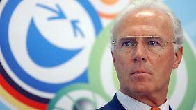 Franz Beckenbauer ist eine Schlüsselfigur in der Affäre um die mutmaßlich gekaufte Fußball-WM 2006.