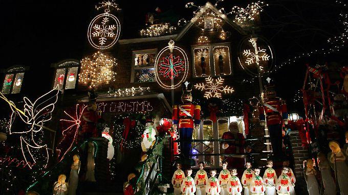 Der weihnachtliche US-Stromverbrauch würde für den Betrieb von 14 Millionen Kühlschränken ausreichen.