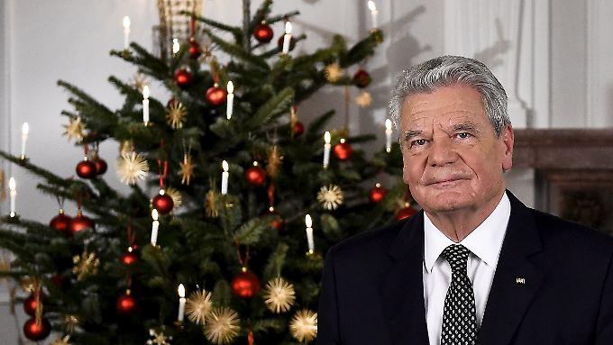 """""""Haben gezeigt, was in uns steckt"""": Weihnachtsansprache des Bundespräsidenten in voller Länge"""
