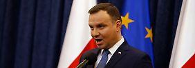 Trotz internationaler Proteste: Polens Präsident setzt Gerichtsreform in Kraft