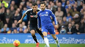 Cesc Fabregas spielt eine sehr mäßige Saison beim FC Chelsea - so wie der gesamte Verein.