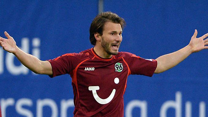 """Szabolcs Huszti hatte in seiner Zeit bei Hannover 96 den Spitznamen """"Eisvogel""""."""