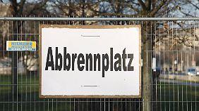 Ein Zaun soll das Berliner Festgelände umgeben.