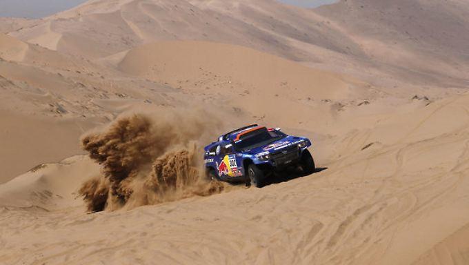 In zwei Wochen absolvieren die Fahrer bei der Rallye Dakar über 9000 Kilometer.