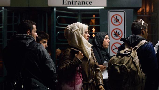 Flüchtlinge aus Syrien mussten bislang keine persönliche Anhörung mehr durchlaufen.