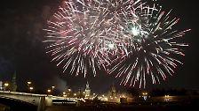 Prost Neujahr!: So feierte die Welt Silvester