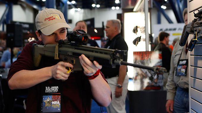 In Texas ist das offene Tragen von Schusswaffen seit Beginn des neuen Jahres erlaubt.