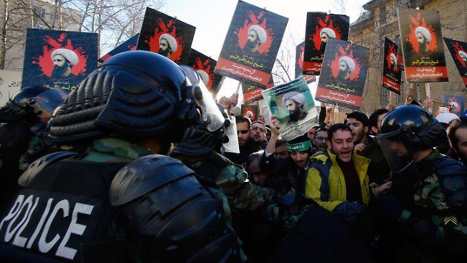 Die Rivalität zwischen Riad und Teheran setzt die Region unter Dauerspannung.