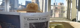 """Frisurentrends auf Titelseite: """"New York Times"""" erscheint im Downton-Look"""