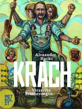 """""""Krach - Verzerrte Erinnerungen"""" ist bei Metrolit erschienen, gebunden, 300 Seiten, 22 Euro."""