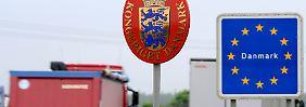 Land unter Zugzwang: Dänemark macht seine Grenze dicht