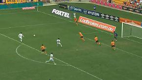 Goldenes Händchen in Australien: Fußball-Talent kommt, schießt und trifft