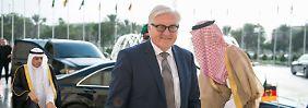 Reise nach Saudi-Arabien und Iran: Steinmeier will Streit am Golf schlichten