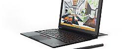 Das Thinkpad X1 Tablet wird mit dem passenden Zubehör zum Notebook.