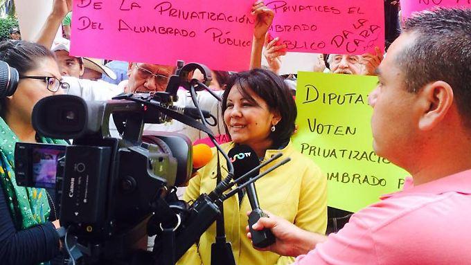 Wurde nur einen Tag nach Amtsantritt ermordet: Temixcos Bürgermeisterin Gisela Mota