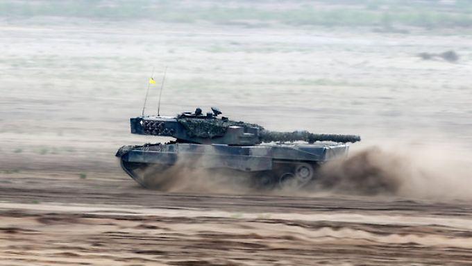 Saudi-Arabien hat in der Vergangenheit unter anderem den Hightech-Panzer Leopard 2 aus Deutschland gekauft.