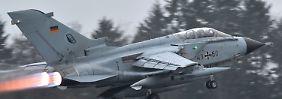 Aufklärung im IS-Gebiet: Vier Tornados zum Anti-IS-Einsatz gestartet