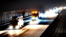 Polizei warnt: A2 auf 50 Kilometern Länge vereist