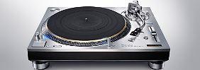 Verbesserter Technics SL-1200: Plattenspieler-Legende kehrt zurück