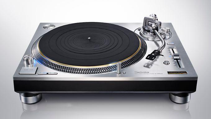 So schön kann kein MP3-Player sein: der Technics SL-1200GAE.