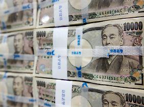 Zu stark für die eigene Wirtschaft: der japanische Yen.