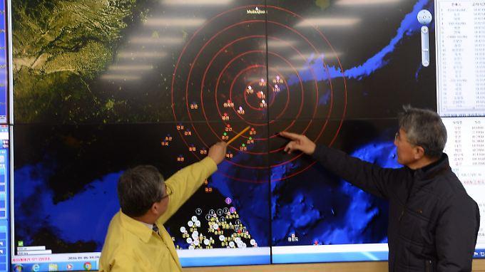 Die Erschütterung durch die Wasserstoffbombe wurde in der Region wie ein fernes Erdbeben wahrgenommen.