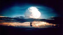 1952 testeten die USA die erste Wasserstoffbombe.