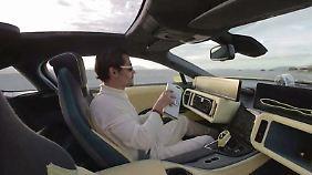 Smartphone-Lenkung und Sprachsteuerung: Das sind die Super-Smartcars der CES