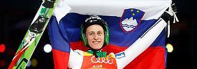 Der Slowene Peter Prevc gewann drei von vier Springen der 64. Vierschanzentournee und siegte mit riesigem Vorsprung.