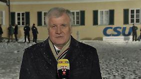 """CSU-Klausur in Wildbad Kreuth: Seehofer: """"Wir brauchen einen starken Staat"""""""