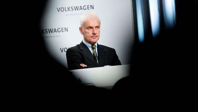 Auf Matthias Müller warten unangenehme Gespräche.