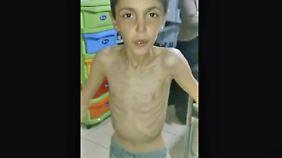 Belagerte syrische Stadt Madaja: Tausenden Menschen droht der Hungertod