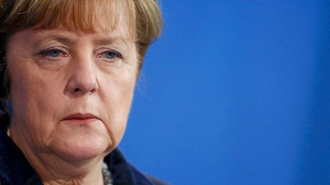 """Angela Merkel sagte, sie finde die Vorfälle in Köln """"persönlich unerträglich""""."""