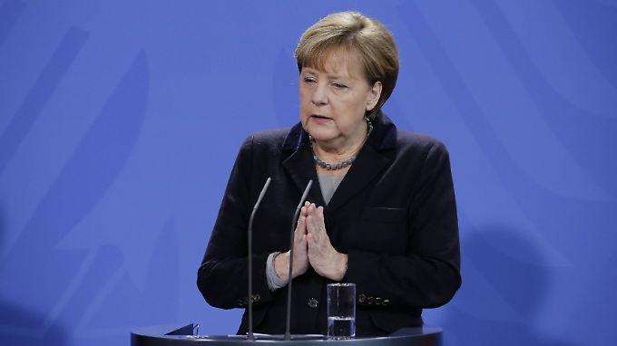 """""""Für mich persönlich unerträglich"""": Merkel will nach Silvester-Übergriffen klare Zeichen setzen"""