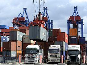Der deutsche Außenhandel zeigt keine Anzeichen von Krise.