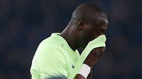"""""""Es ist traurig zu sehen, dass Afrika so reagiert"""": Yaya Touré."""