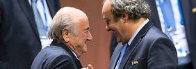 """Scheich als Fifa-Favorit: Platini: Blatter """"wollte mich erledigen"""""""