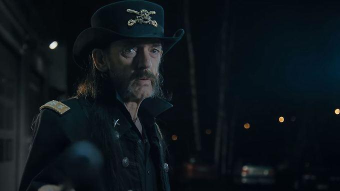 """""""Du Arschloch"""": Lemmy Kilmister."""