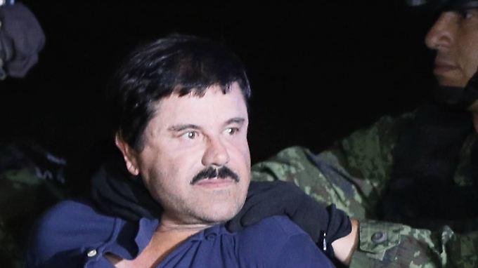 """Nach spektakulärem Ausbruch: Mexikanischer Drogenboss """"El Chapo"""" nach Flucht wieder gefasst"""