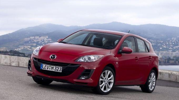 Golf-Rivale: der Mazda3.